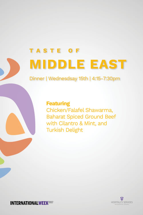 Taste of Middle East