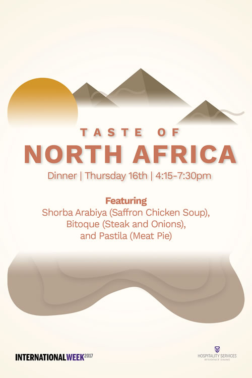 Taste of North Africa